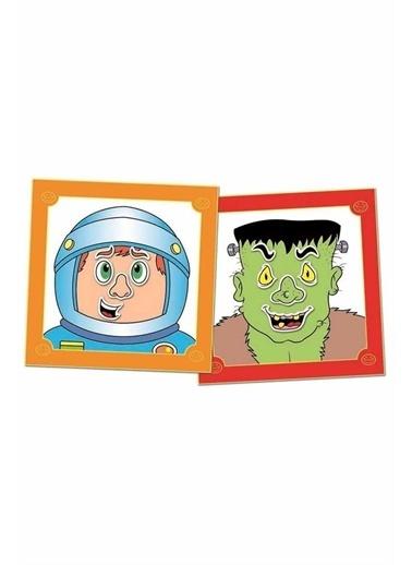 Galt Galt Funny Faces Sticker Yüzümüzü Tanıyalım Çocuk Eğitim Kitabı 3 Yaş Renkli